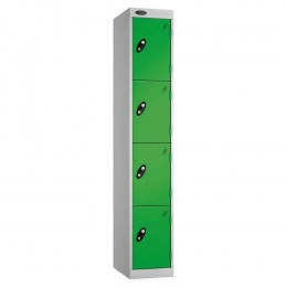 Probe Expressbox 4 Door Locker Key Locking Green