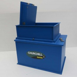 Churchill CS013 Gas Strut Silver Large Floor Safe £6000