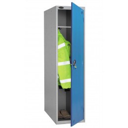 Probe 1 Door Police Electronic Locking Large Extra Deep Locker - blue door