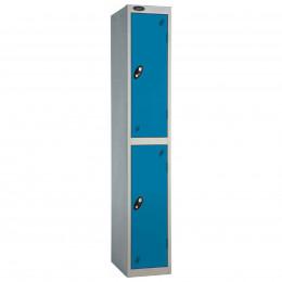 Probe 2 Door High Metal Locker Type P Combination Lock blue