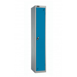 Probe Single Door Clothes Locker Key Lock Door blue