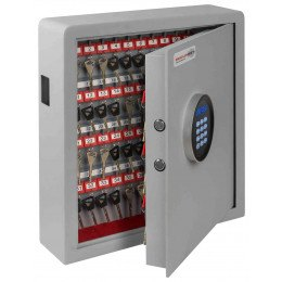 Securikey Electronic Key Storage & Key Deposit Safe 70 Keys - door ajar