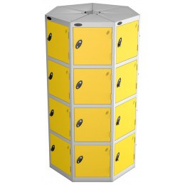 Space Saving Locker - 28 Compartments - Probe POD