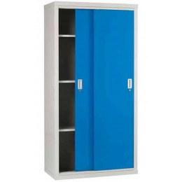 Sliding Door Welded Steel Cabinet 183x92x46 - Bedford 84894