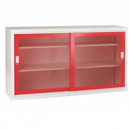 Bedford 84MD084 Steel Mesh Sliding Door Cabinet 1020x1830x460