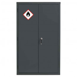 Bedford 88F824G Grey Flammable Welded Wide Cabinet
