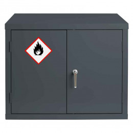 Bedford 88F794G Grey Flammable Welded 712H mm Cabinet