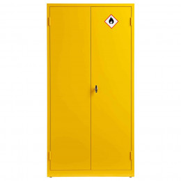 Bedford 88F894 Yellow Flammable 2 Door 1830H mm Cabinet