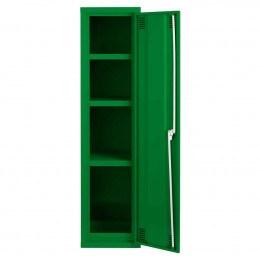 Bedford 88P844 Agrochemical & Pesticide Slim Cabinet - door open