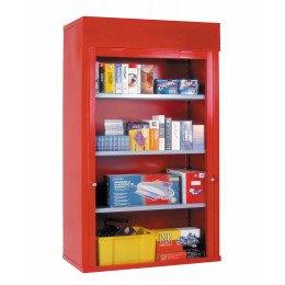 Extra wide Steel Steel Roller Shutter Door Cabinet 3 sh 200x120x50 - Bedford 90225A