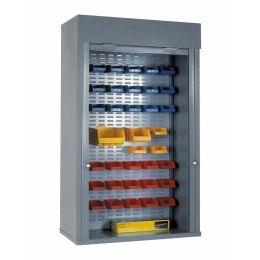 Extra Wide Steel Roller Shutter Door Cabinet Full Louvre 2000x1200x500 - Bedford 90225E