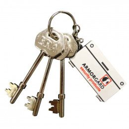Armorgard Security Genuine Replacement Set of 3 Keys
