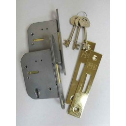 Armorgard Genuine Replacement  2 x 5 lever locks with 3 Keys