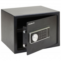 Chubbsafes Air 15E door slightly open comes with emergency override key