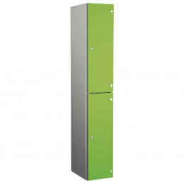 Probe ZENBOX Aluminium Two Laminate Door Locker in Lime