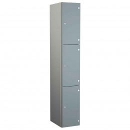 Three Laminate Door Locker - Probe ZENBOX Aluminium