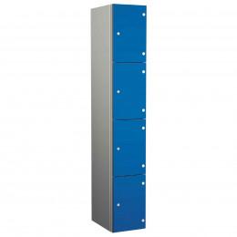 Probe ZENBOX Aluminium Four Laminate Door Locker in Electric Blue