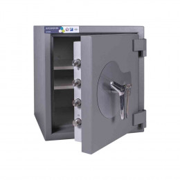 Burton Amario 2K Grade 3 Key Locking Security Safe £35K Door ajar