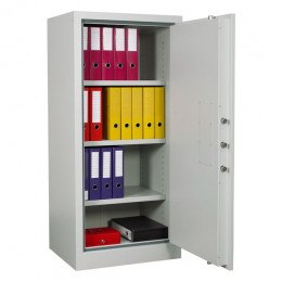 Chubbsafes Archive Fire Security Cabinet Size 325 Door Open with Files