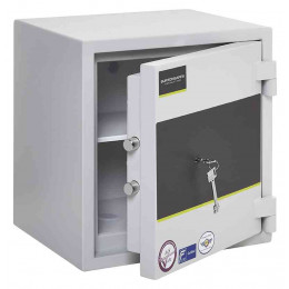 Burton Eurovault Grade 0 Safe Size 1 Key Locking showing the Door Ajar
