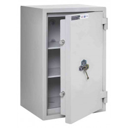 Burton Eurovault Grade 0 Safe Size 2 Key Locking showing the Door Ajar