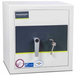 Key Locking Burton Eurovault Aver Grade 1 Safe with door closed