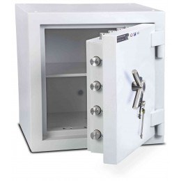 Burton Eurovault Aver 1KK Eurograde 5 twin Key Lock Security Fire Safe - open