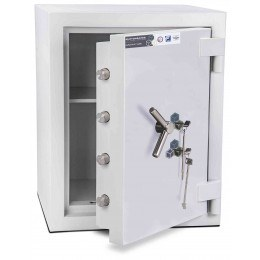 Burton Eurovault Aver 2KK Eurograde 5 Twin Key Lock Security Fire Safe - open