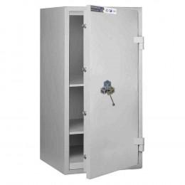 Burton Eurovault Grade 0 Fire Safe Size 3 Key Locking showing the Door Ajar