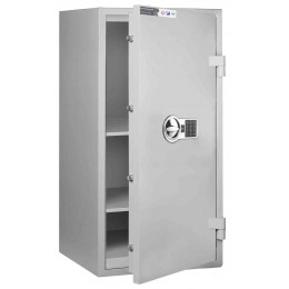 Burton Eurovault Aver 3E Eurograde 0 Electronic Safe £6,000 Rated - door ajar