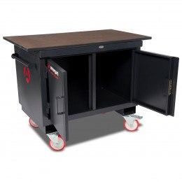 Mobile Workbench - Armorgard Mobile TuffBench - Open