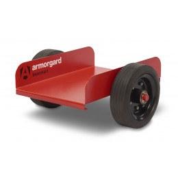 BeamKart BK1 heavy-duty material handling trolley with hard rubber wheels