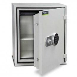Burton Firebrand Size3 Fireproof Home Electronic Safe - door ajar