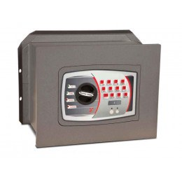 £4000 Rated Wall Safe Electronic - Burton Torino WS-DT/1PE Closed