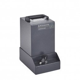 Burton Mini Cashguard Vehicle Cash Collection Safe - fixed to base unit