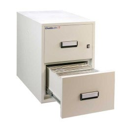 Chubbsafes Fire File 31-2 2 Hour 2 Drawer Filing Cabinet