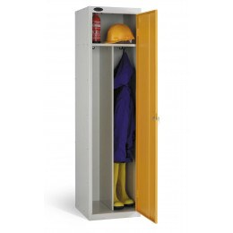 Probe Clean & Dirty Locker 1780x460x460mm yellow open door