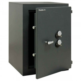 ChubbSafes Custodian 170 EuroGrade 4 Dual Locking Security Safe - door ajar