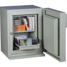 Chubbsafes DataGuard 25E Media Safe Open Contents