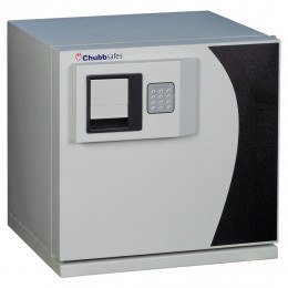 Chubbsafes DataGuard 25E Media Safe Closed with keypad