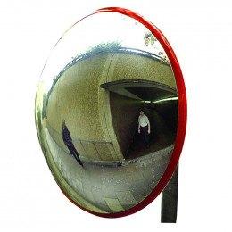 Dancop I62P Subway Safety Dome Post Fix Mirror