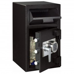 Sentry Cash Deposit Safe DH-109E - Prop Open