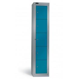 Probe 5 Door Laundry Dispenser Cabinet blue door