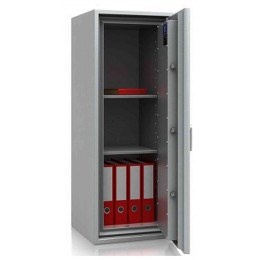 Large De Raat DRS Combi-Fire 4K £4000 Rated Key Lock Security Fireproof Safe - door open