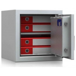 De Raat DRS Prisma 1-1K Small Eurograde1 Key Locking Safe - door open