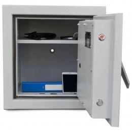 De Raat DRS Prisma 1-1K Small Eurograde1 Key Locking Safe - Door bolts