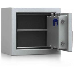 De Raat DRS Prisma 1-0K Small Eurograde 1 Key Locking Safe - door ajar