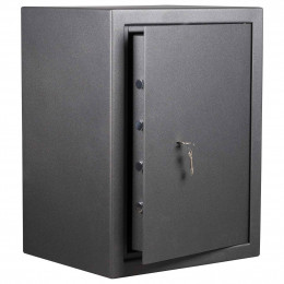 De Raat DRS Vega S2 65K Key Locking £4000 Security Safe with door ajar
