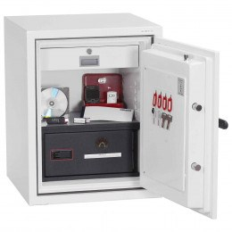 Phoenix DataCombi DS2501E Digital 90min Fire Paper Data Safe - interior view