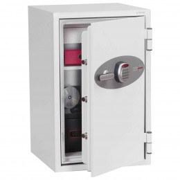 Phoenix DataCombi DS2502E Digital 90min Fire Paper Data Safe - door ajar
